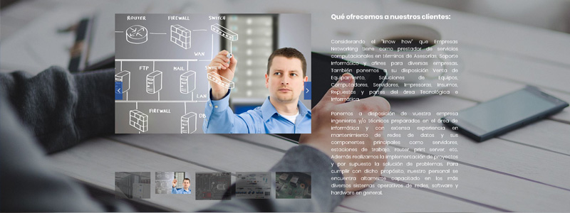 Sitio web Networking