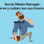 que es social media manager